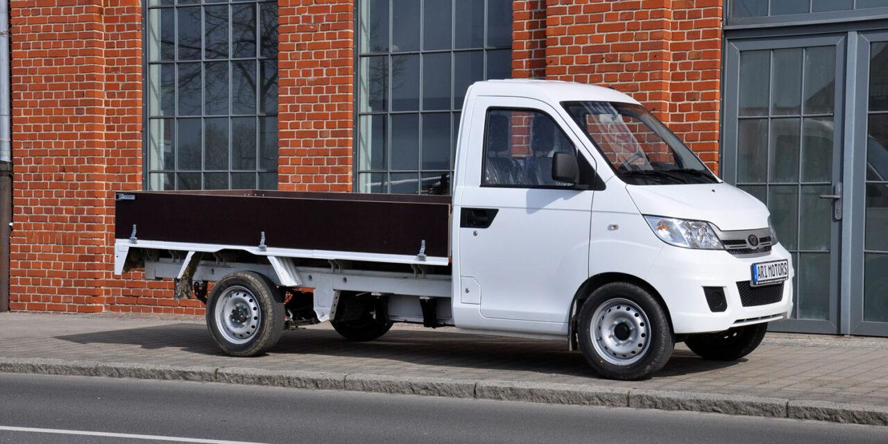 ARI Motors lanza su primer vehículo eléctrico para grandes cargas
