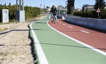La Generalitat Valenciana colabora en el carril ciclopeatonal entre Carcaixent y Alzira