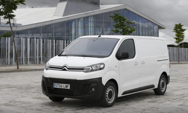 Tres tallas y dos baterías para el nuevo Citroën Jumpy eléctrico