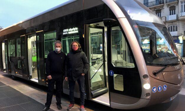 La EMT de València prueba un nuevo autobús eléctrico