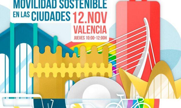Jornada sobre movilidad sostenible organizada por el Ayuntamiento de València y Transport & Environment