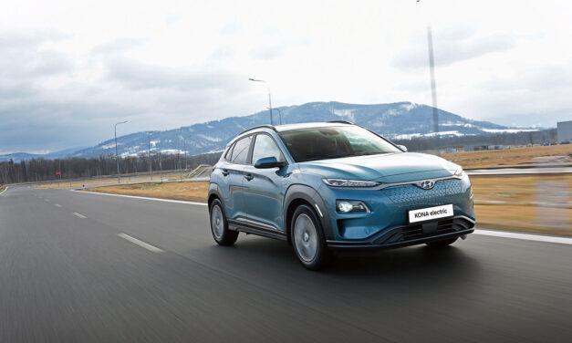 Hyundai mejora un 8% la autonomía del Kona eléctrico