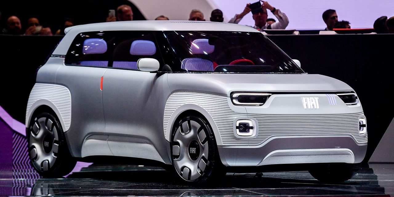 Concept Centoventi: la respuesta 'democrática' de FIAT a la movilidad eléctrica