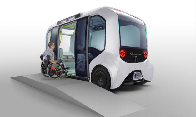 Así se moverán los atletas olímpicos y paralímpicos de Tokio 2020, con un microbús eléctrico y autónomo
