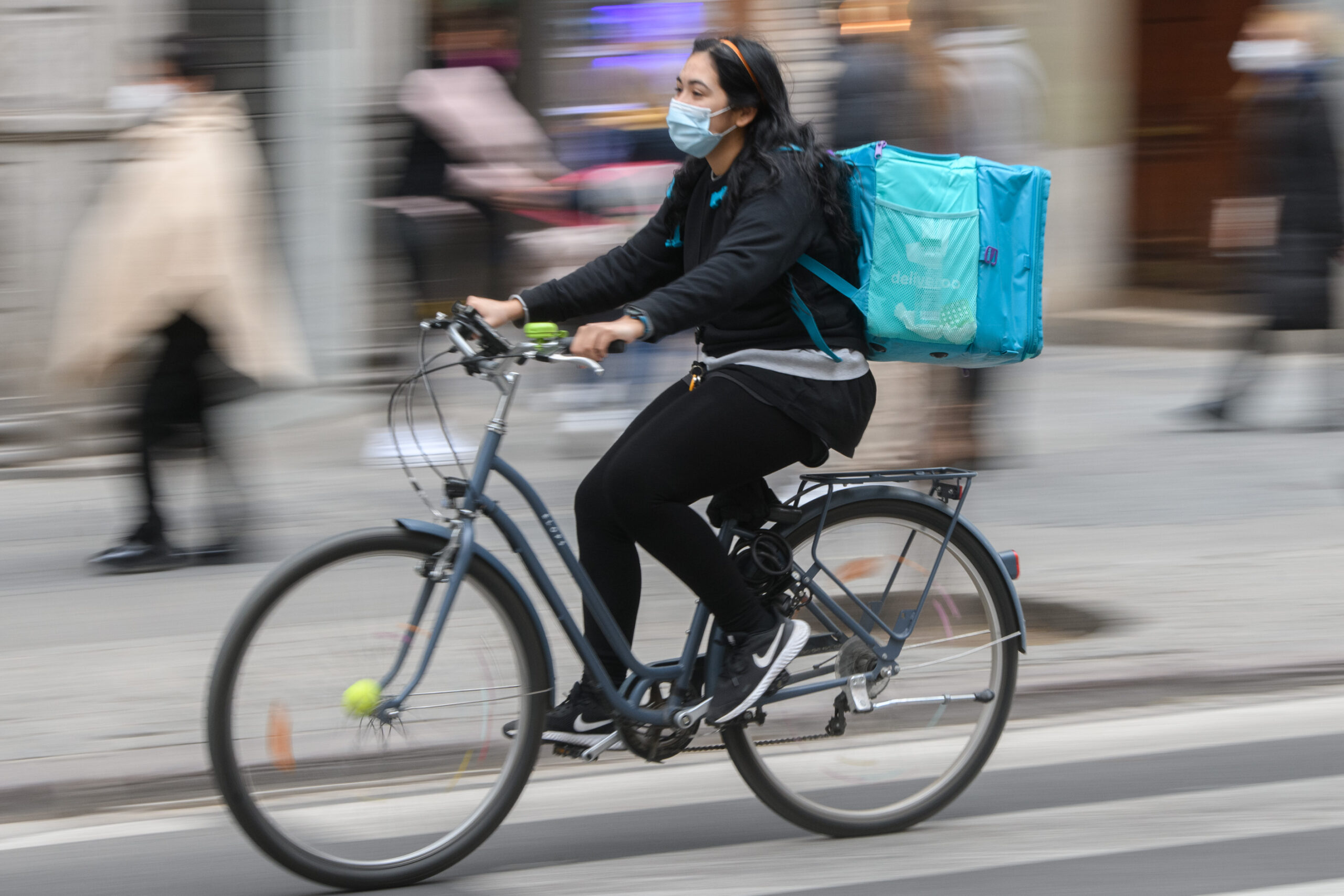 Riders, protagonistas de la movilidad urbana
