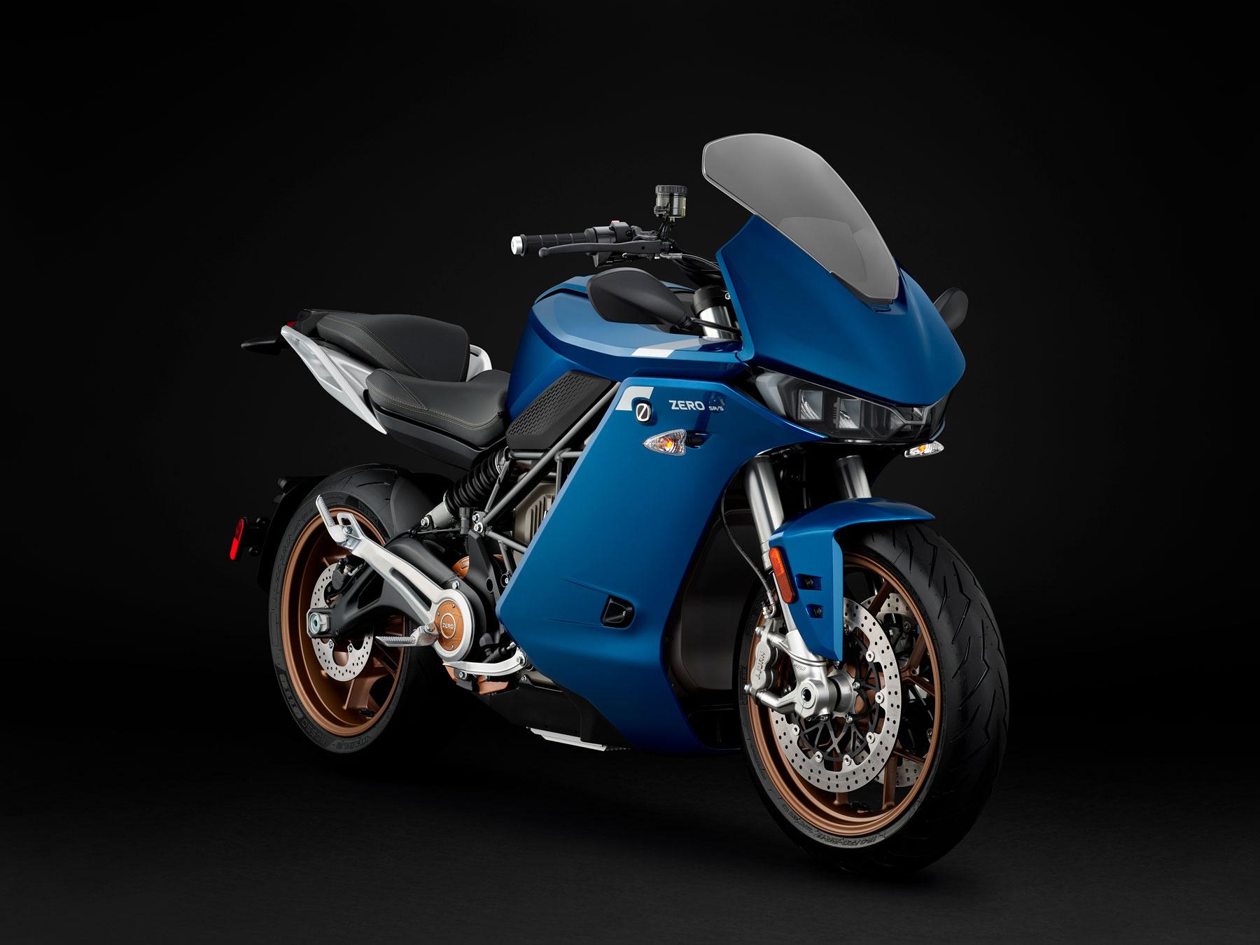 Zero SR/F (moto eléctrica) - Directomotor