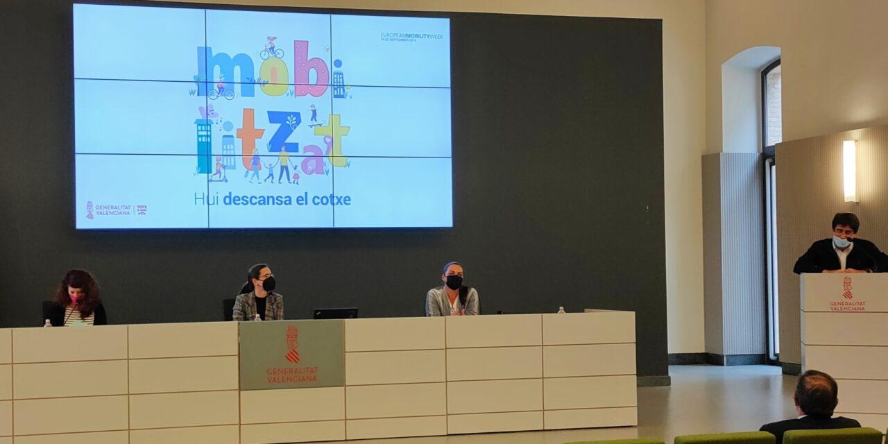 La Generalitat Valenciana premia el compromiso de 14 centros educativos con la movilidad sostenible