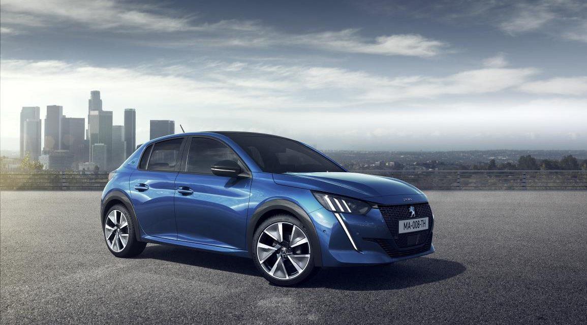 Peugeot abre el proceso de reserva del nuevo 208 en versión eléctrica