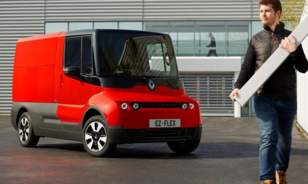 Renault EZ-FLEX, vehículo comercial eléctrico de 'último kilómetro'