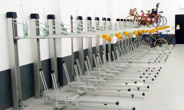 Los aparcamientos de València apuestan por la bicicleta