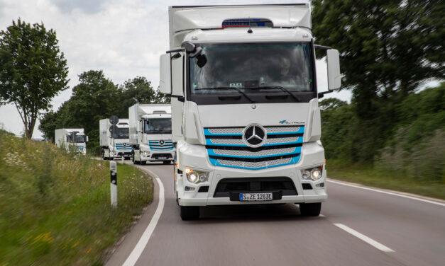 Mercedes-Benz presenta este junio su primer camión completamente eléctrico