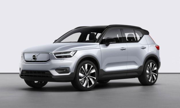 Volvo presenta el XC40 Rechargue, el primero de su gama de vehículos 100% eléctricos