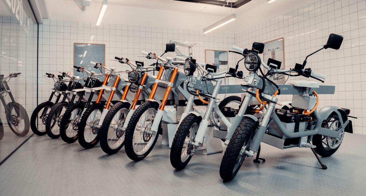 Cake, la marca sueca de motos ligeras 100% eléctricas llega a España