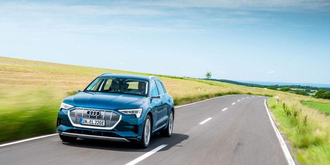 Audi e-tron 55 quattro: el primer eléctrico de la firma de los cuatro aros