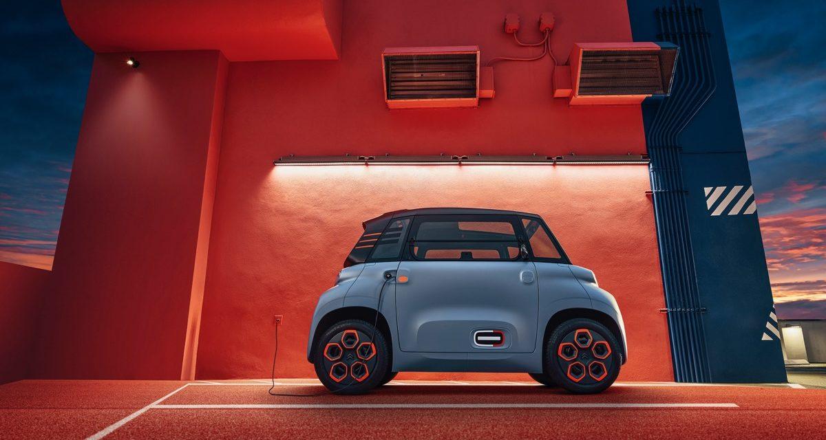 El Citroën Ami, el eléctrico de menos de 7.000 euros, a la venta este mes en Francia y en España después del verano