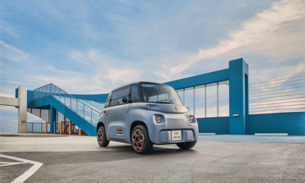 Citröen AMI, un biplaza eléctrico para la ciudad que podrá conducirse sin carnet por 6.900 euros