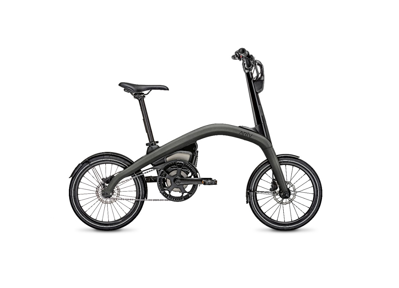 The ARĪV Meld (pictured) is a compact eBike that can be pre-ord