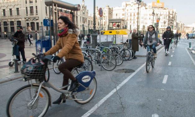 València saca a licitación el Plan director de la Bicicleta con un horizonte de 10 años