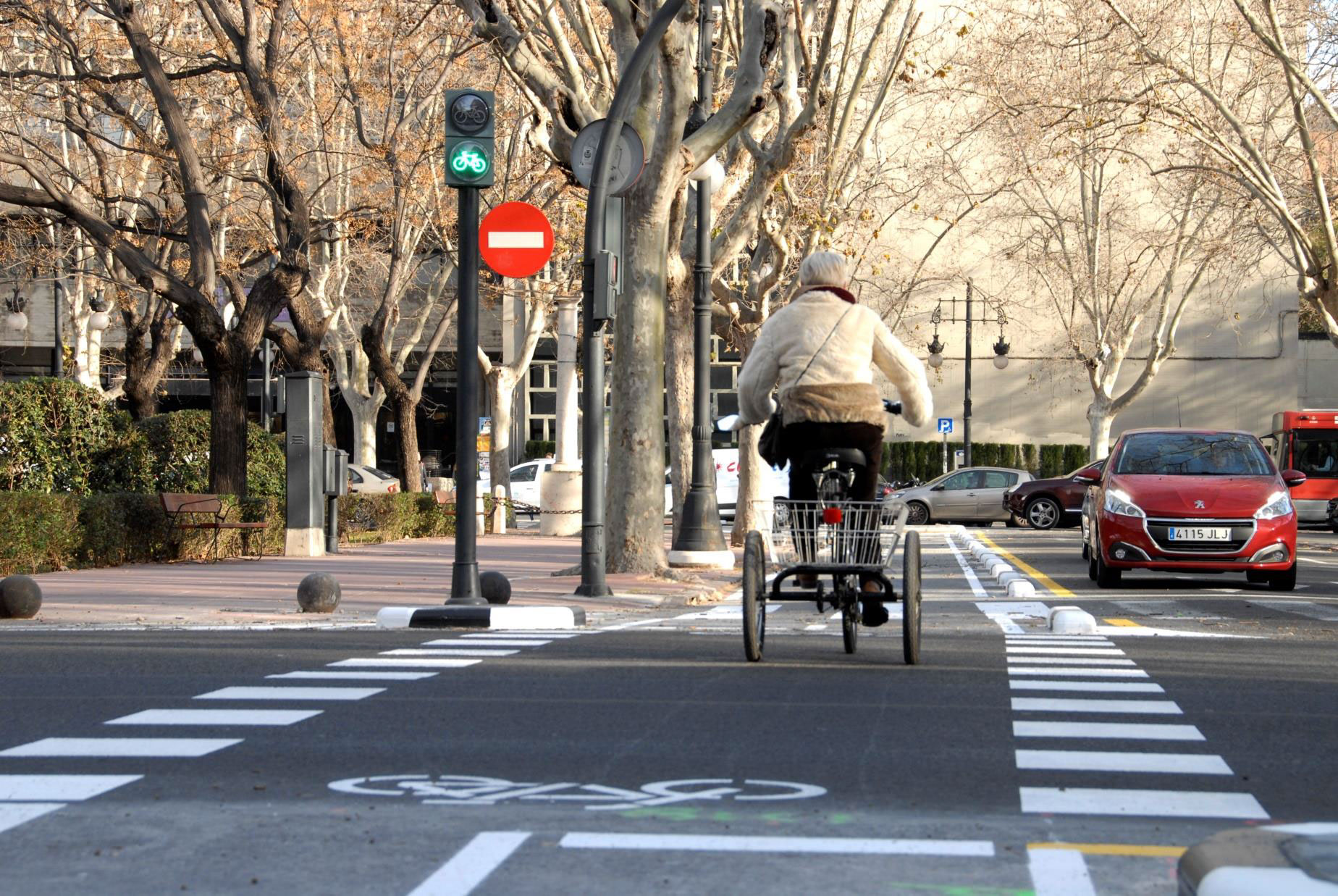 Primer Informe de l'Ús de la Bicicleta a València.