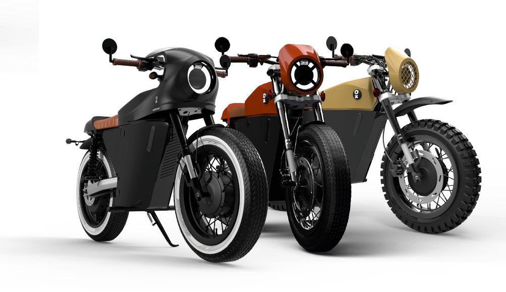 OX Motorcycles presenta sus nuevas series limitadas Atypical Edition