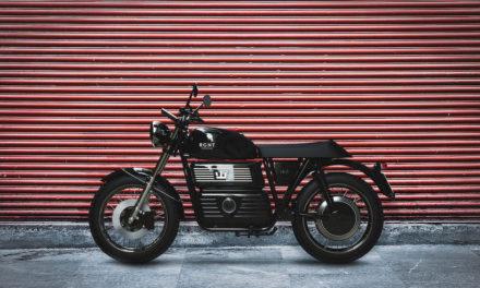 Regent NO.1, una moto eléctrica al mas puro estilo 'old-school'