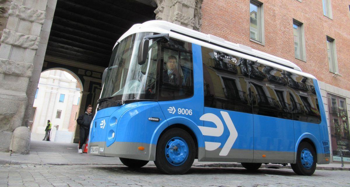 Madrid pondrá en servicio sus nuevos minibuses eléctricos
