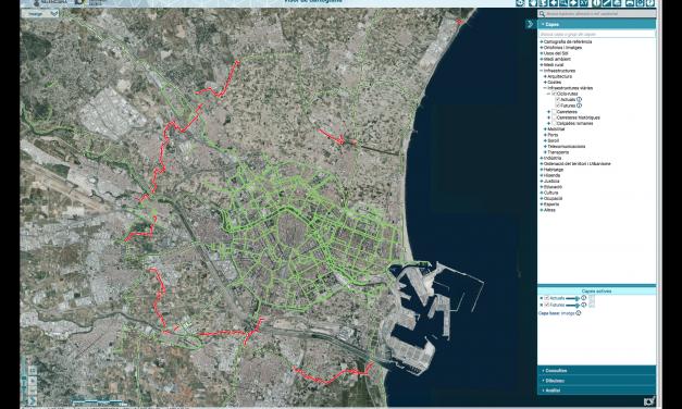 El visor cartográfico de la Generalitat permitirá consultar los carriles bici de la Comunitat Valenciana
