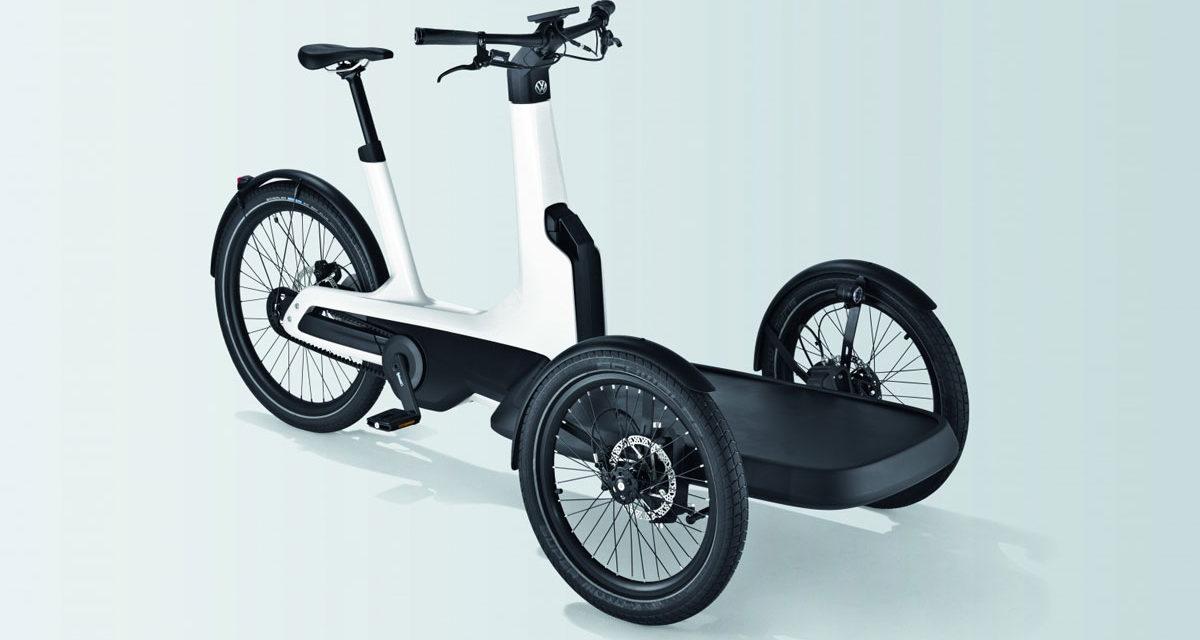 Cargo e-Bike, el triciclo eléctrico de carga de Volkswagen