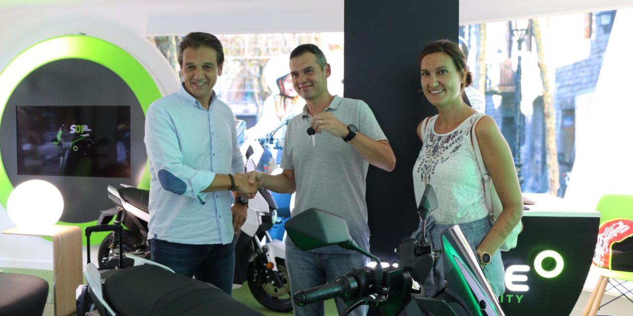 Silence comienza la entrega de su nueva moto eléctrica S01 a los clientes