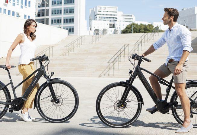 Peugeot reinventa la bicicleta urbana con asistencia eléctrica con la eC01 Crossover