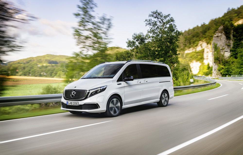 El EQV, el primer gran monovolumen 100% eléctrico de Mercedes-Benz, llegará en septiembre