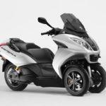 Peugeot presenta la versión eléctrica de su scooter de tres ruedas