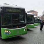 Valladolid estrena seis nuevos autobuses eléctricos de la firma Vectia