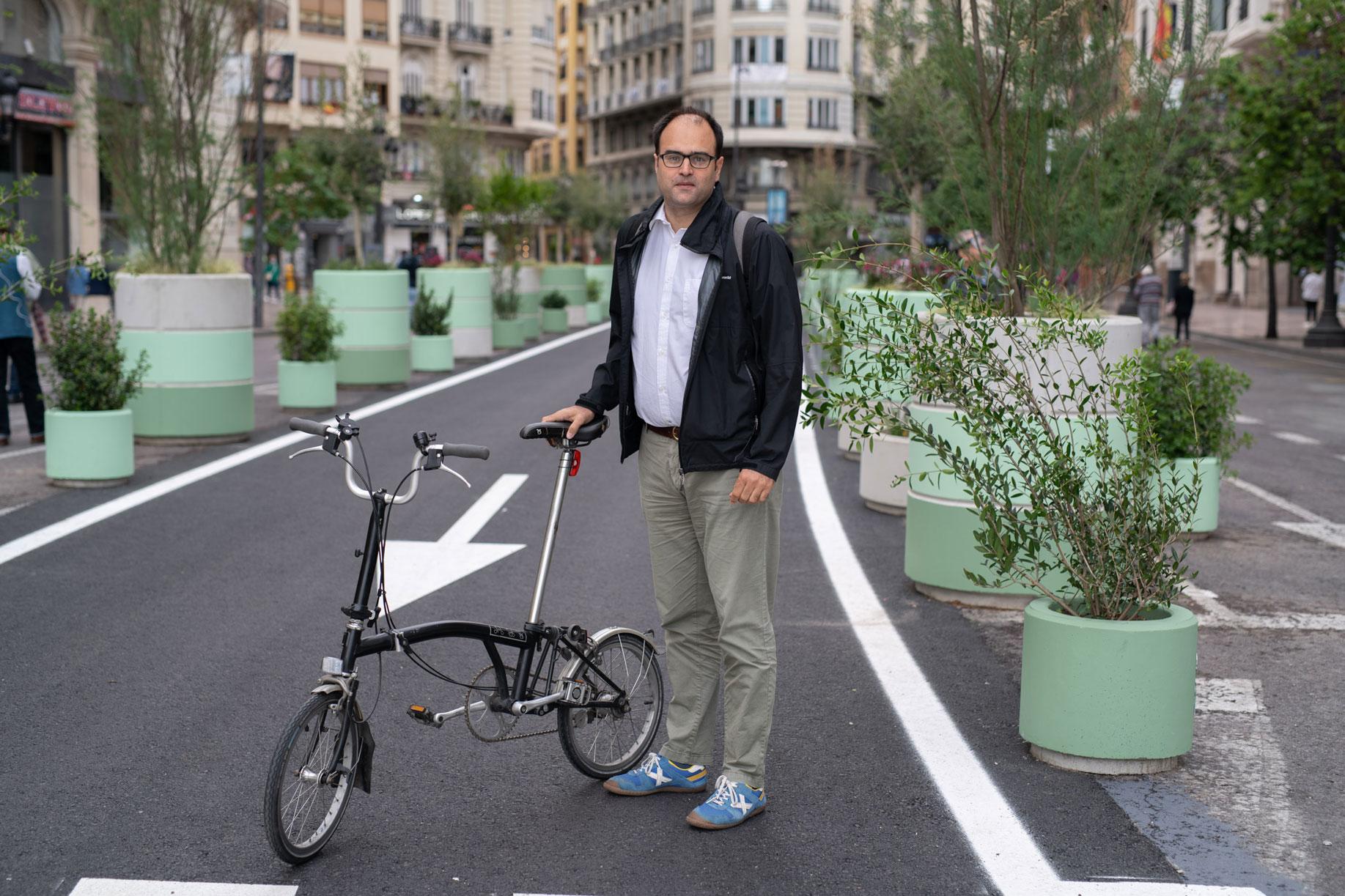 Francesc Arechavala, consultor y director de proyectos de movilidad urbana.