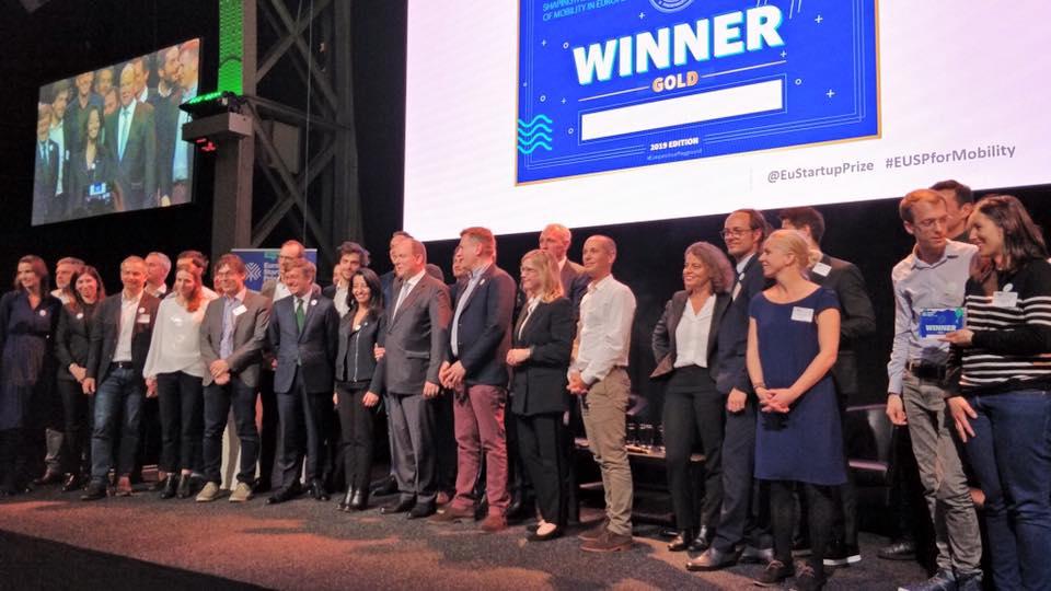 Una 'startup' española premiada en los European Startup Prize for Mobility 2019