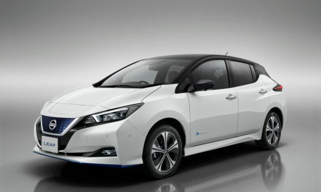 Nissan presenta una versión potenciada de su eléctrico superventas, el LEAF e+