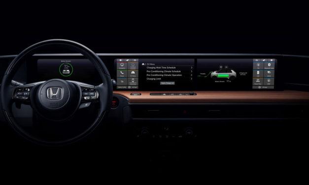 Honda muestra el interior de su primer vehículo eléctrico