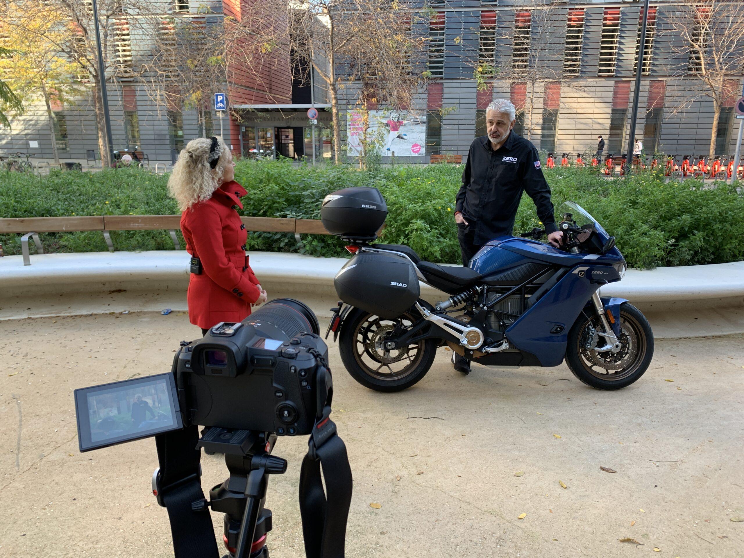 Josef Morat, country manager de Zero Motorcycles