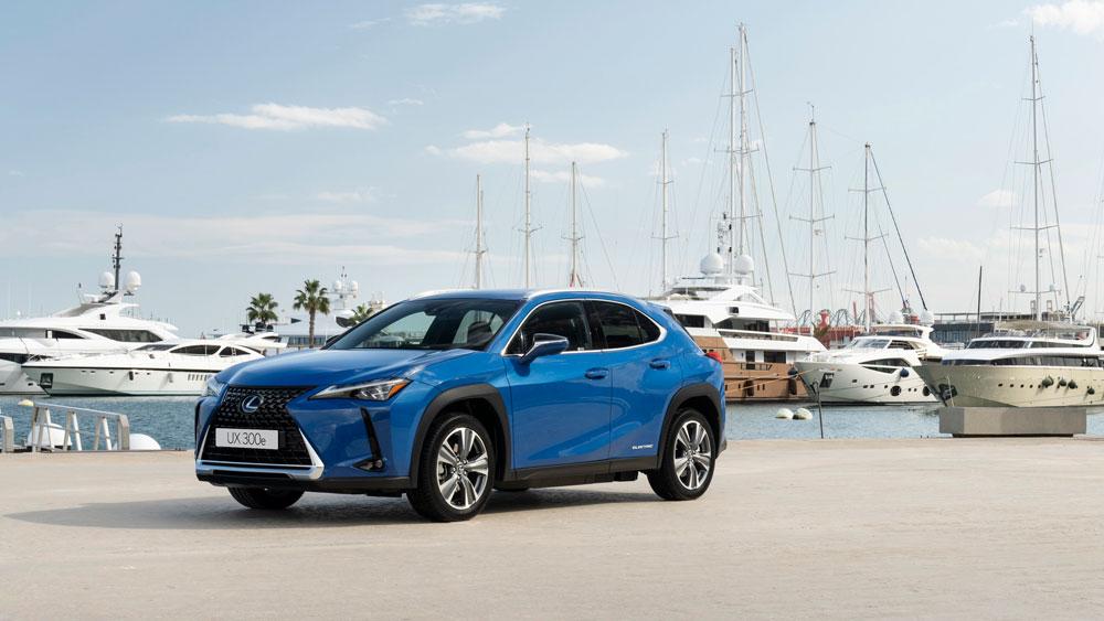 Lexus elige València para la presentación mundial de su primer eléctrico UX 300e