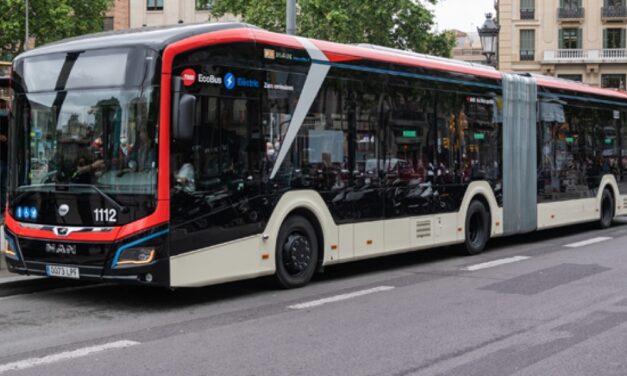 El primer bus sólo eléctrico de 18 metros circulará por Barcelona en julio