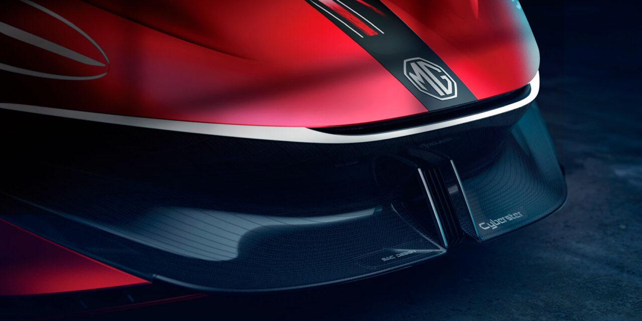 MG recupera su tradición 'roadster' con su concepto de deportivo Cyberster