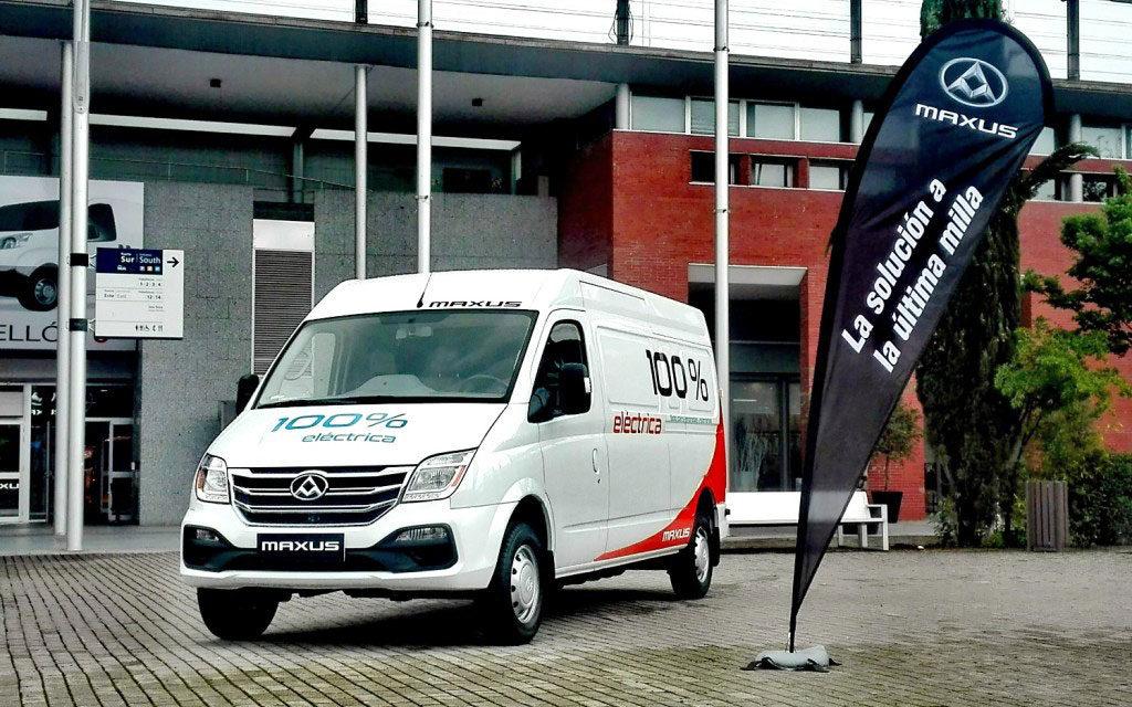 Maxus presenta su nueva furgoneta 100% eléctrica EV80