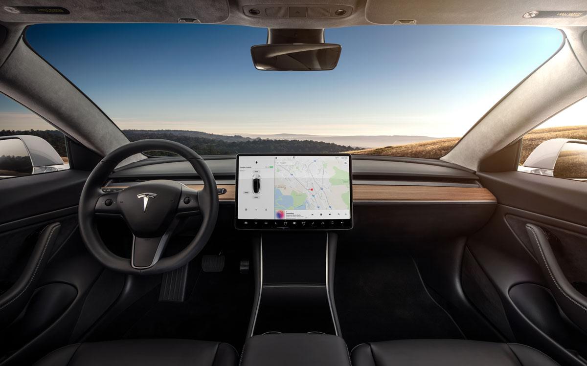 Model-3---Interior-Dashboard---Head-On