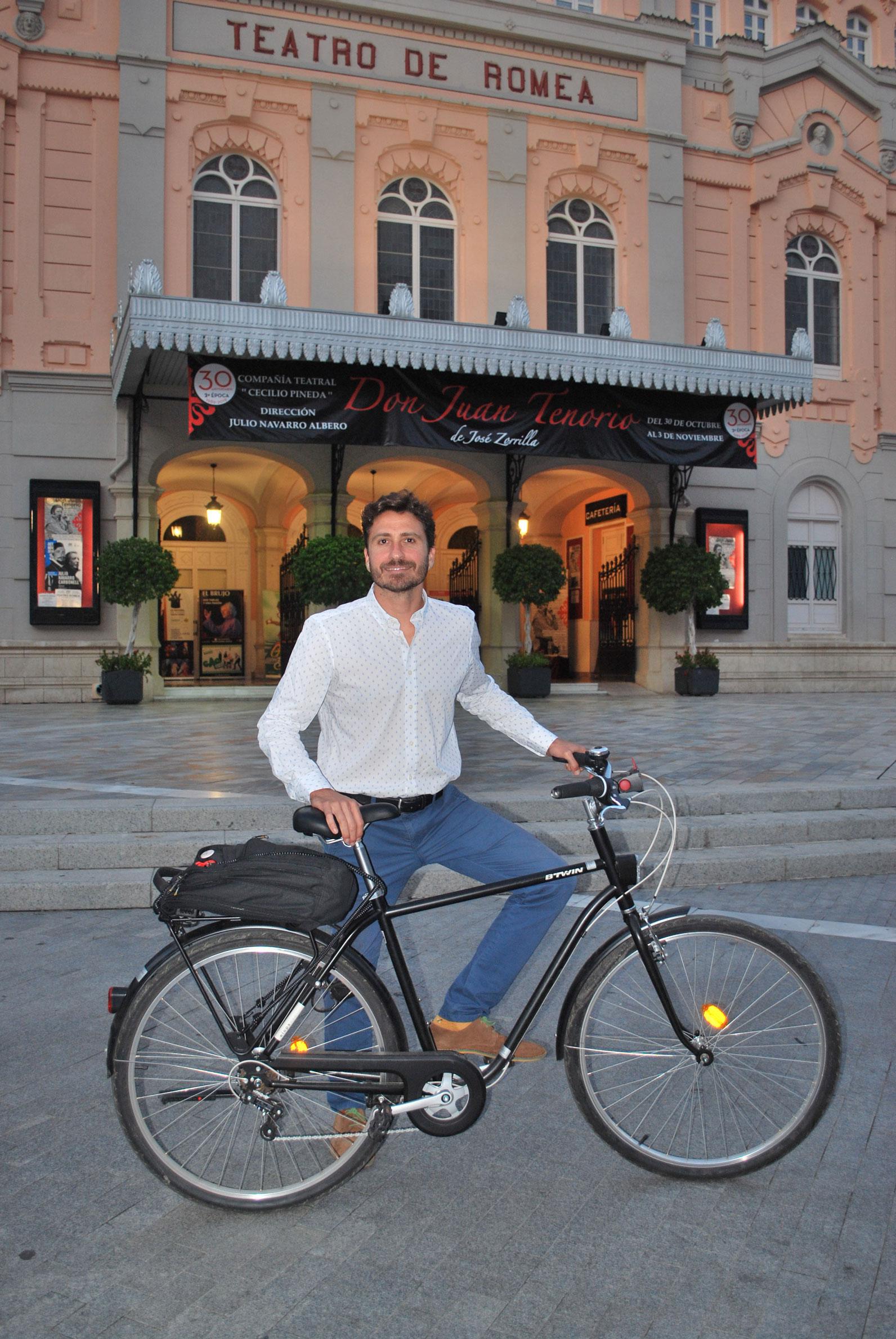 Nacho Tomás, Secretario técnico de Red de Ciudades por la Bicicleta