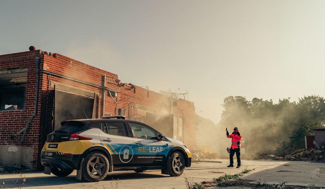Nissan RE-LEAF: Electricidad donde sea y cuando sea