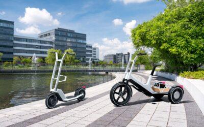 BMW presenta conceptos innovadores para una bicicleta de carga y un scooter eléctrico
