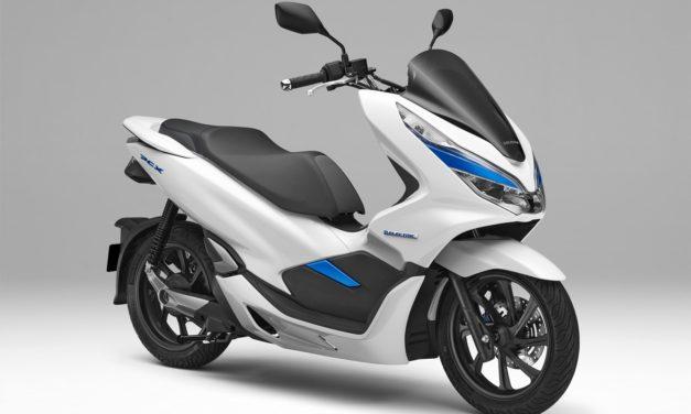 PCX Electric, primer scooter eléctrico de Honda con baterías extraíbles