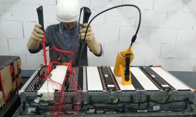 Segunda vida a las baterías de coches eléctricos