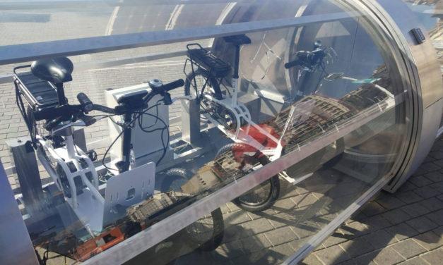 La firma Up2City apuesta por la instalación de parkings inteligentes para bicicletas