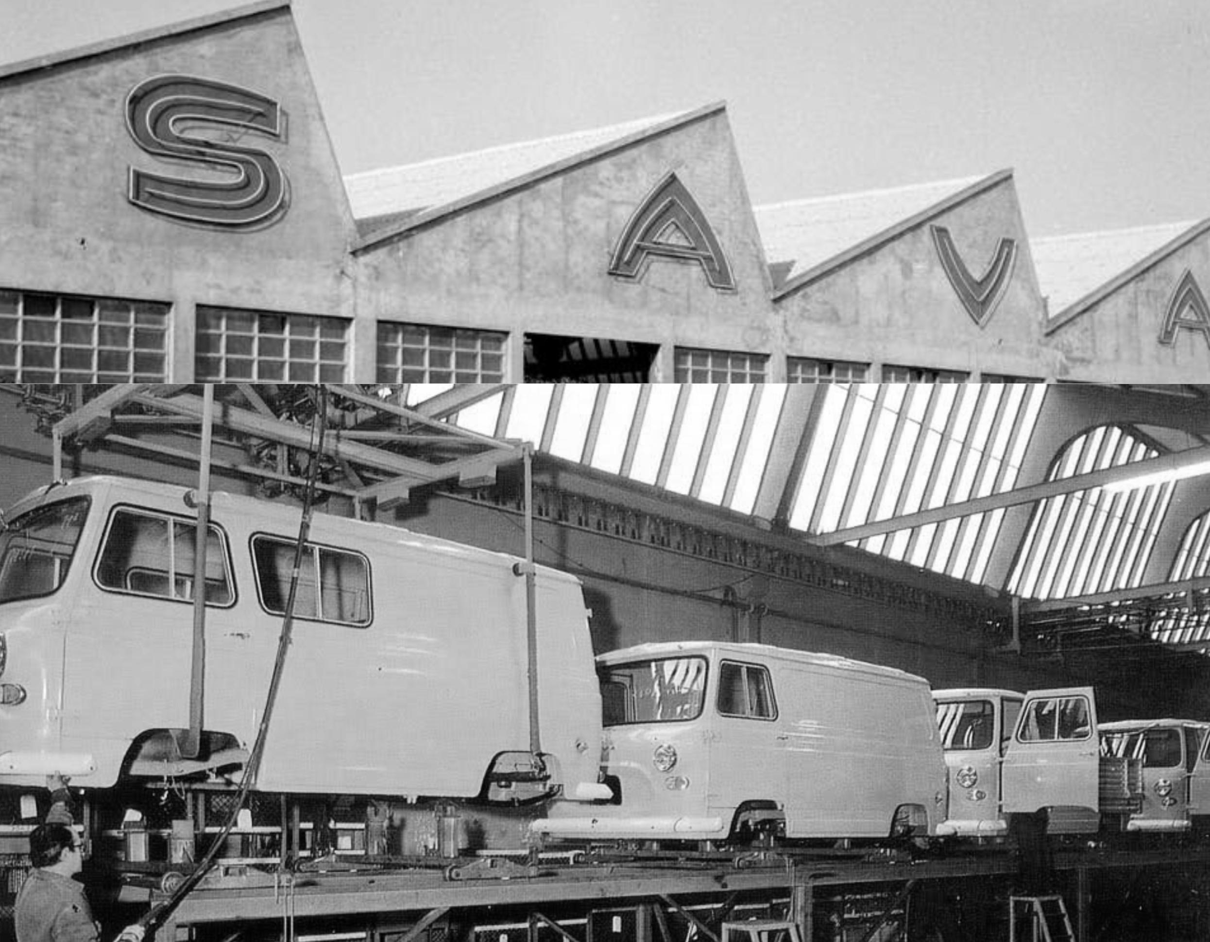 Fábrica de furgonetas SAVA